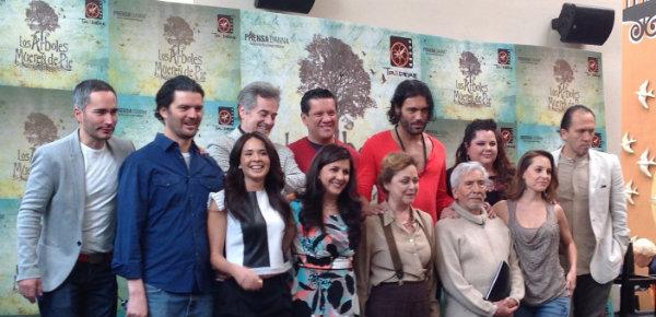 Elenco, director y productora de la cinta que se filmará en Campeche