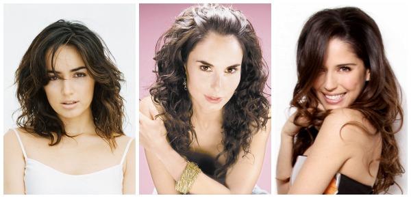 Ana de la Reguera, Ana Serradilla y Ana Claudia Talancón