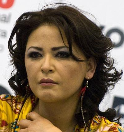 Elpidia Carrillo sustituyó a María Rojo.