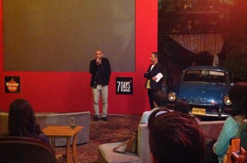 El cineasta Pablo Trapero presentó el filme en la ciudad de México.