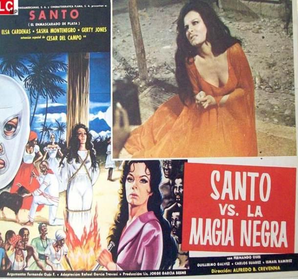 Elsa Cárdenas en 'Santo contra la magia negra'